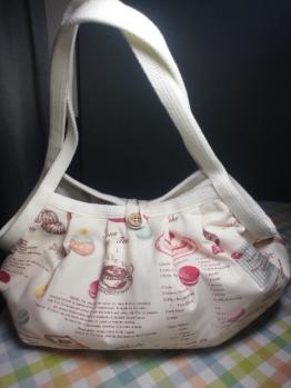 20130322まめ好きさんからばばバッグ