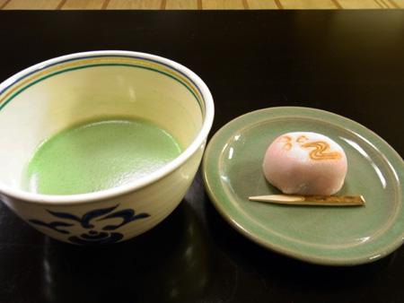 抹茶と花筏