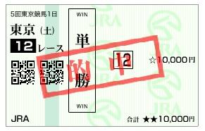 【的中馬券】1108東京12(日刊コンピ 馬券生活 的中 万馬券 三連単 札幌競馬)