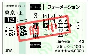 【的中馬券】1129東京12(日刊コンピ 馬券生活 的中 万馬券 三連単 札幌競馬)