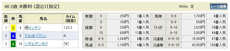 1129京都4(日刊コンピ 馬券生活 的中 万馬券 三連単 札幌競馬)