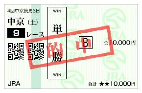 【的中馬券】1213中京9(日刊コンピ 馬券生活 的中 万馬券 三連単 札幌競馬)
