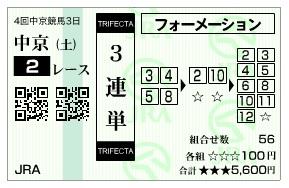 【馬券】1213中京2(日刊コンピ 馬券生活 的中 万馬券 三連単 札幌競馬)