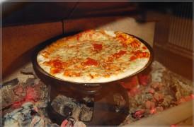 南部鉄器ピザ