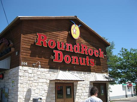 cake for Round rock donuts