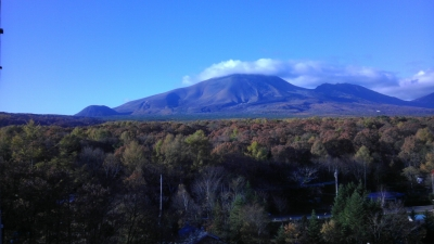 s-11月の浅間山