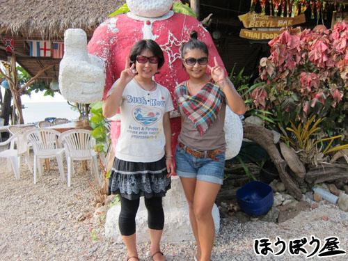 サムイ島シークレットビーチのレストラン