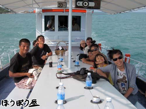 釣り集合写真