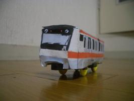 ペーパークラフトプラレール E233系