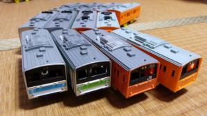 プラレール通勤車