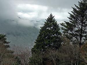 ブログ雲間の京都市街