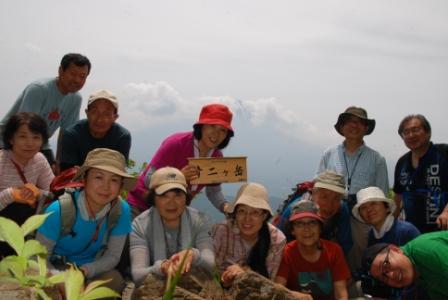 12十二ヶ岳山頂