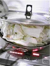 キャベツのピリ辛酢漬け 行程
