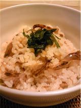 ホタテの佃煮で炊き込みご飯♪