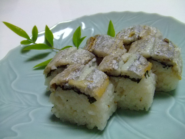 焼き太刀魚寿司♪ 003