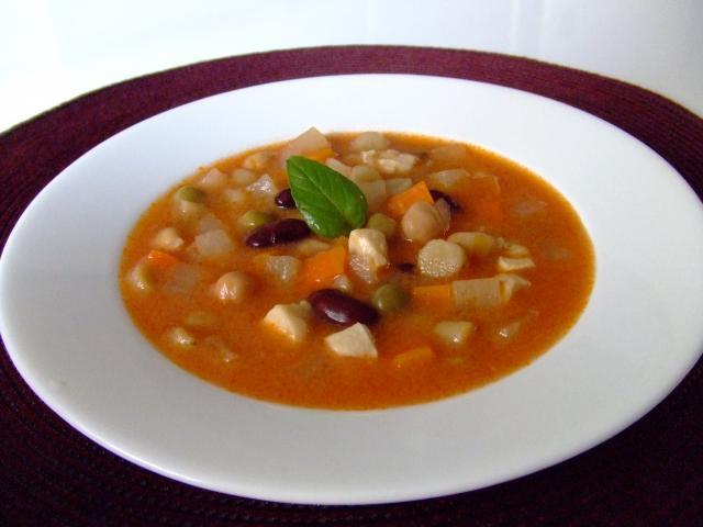根菜とお豆のコロコロトマトミルクシチュー♪