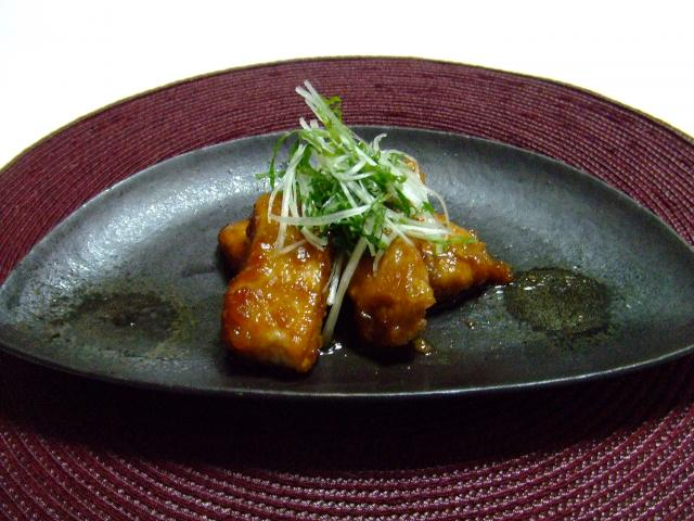 豚ロースの甘辛生姜焼き