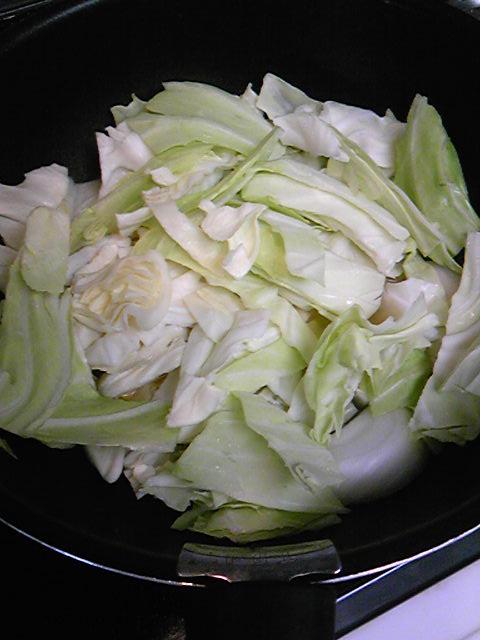 秋鮭スープ手順1