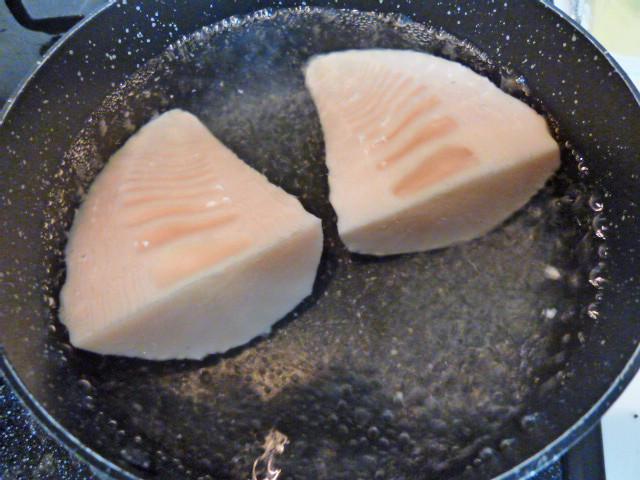 ピリ辛炒め手順1