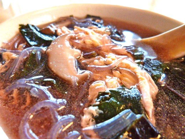 ハンダマと春雨のすっぱ辛いスープ2