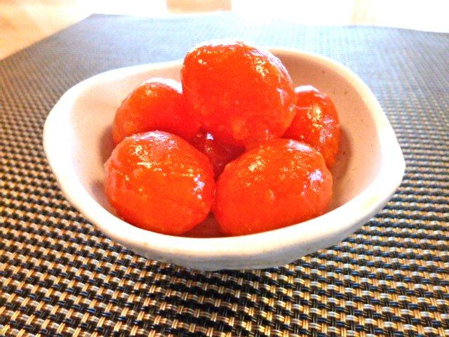 簡単ミニトマトのマリネ♪