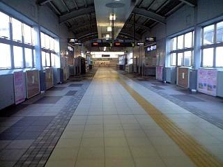 麻の品川駅