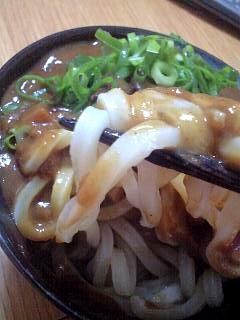 日の出製麺所カレーうどん(その2)