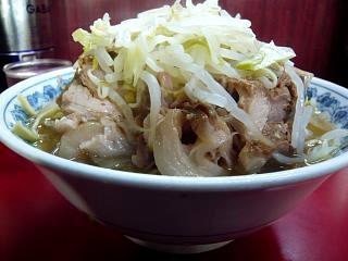 ラーメン二郎目黒支店(大豚横)