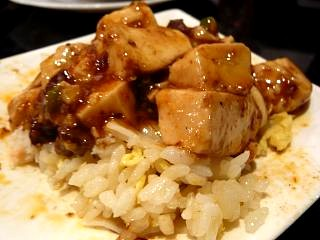 銀座中華(チャーハンと麻婆豆腐)