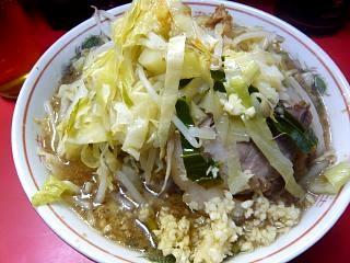 ラーメン二郎三田本店(小豚上2)
