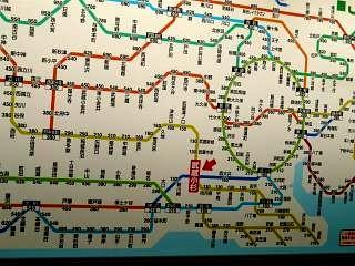 武蔵小杉新駅(路線図)