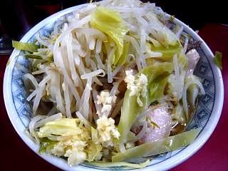 ラーメン二郎目黒支店(大豚上)