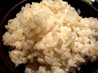 土風炉(麦とろ牡蠣フライ定食・ご飯)