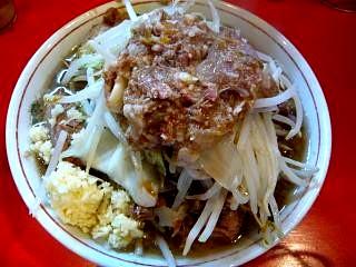 ラーメン二郎府中店(小豚その1)