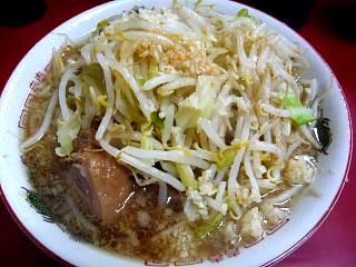 ラーメン二郎(京急川崎店ラーメンその1)