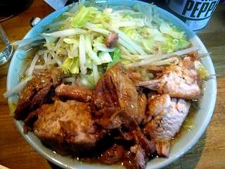 ラーメン髭(チャーシュー麺その4)