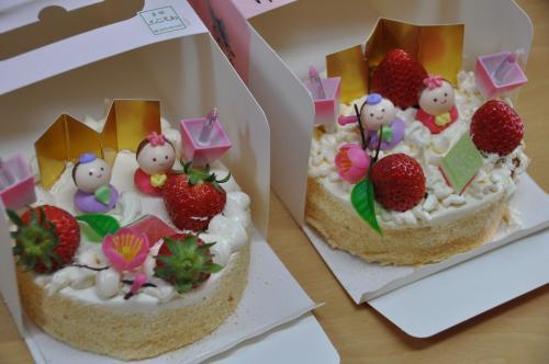 子供手作りケーキ