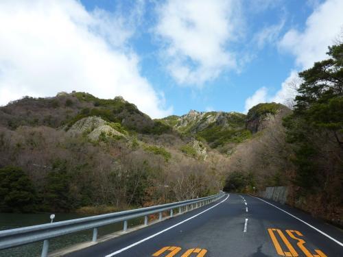 紅雲亭への道