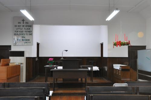 アドベントの礼拝堂