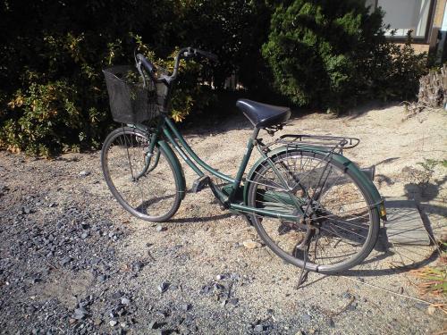 ゴミだった自転車