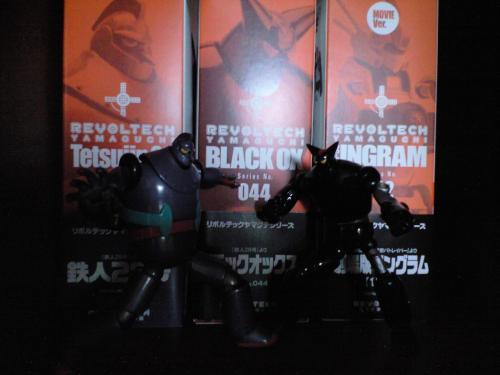 鉄人28号とブラックオックス