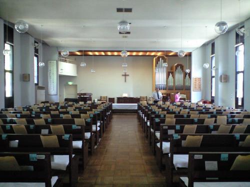 名古屋中央教会礼拝堂
