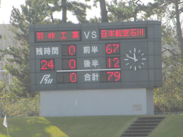 高校ラグビー新人戦  航空vs羽咋工業 221