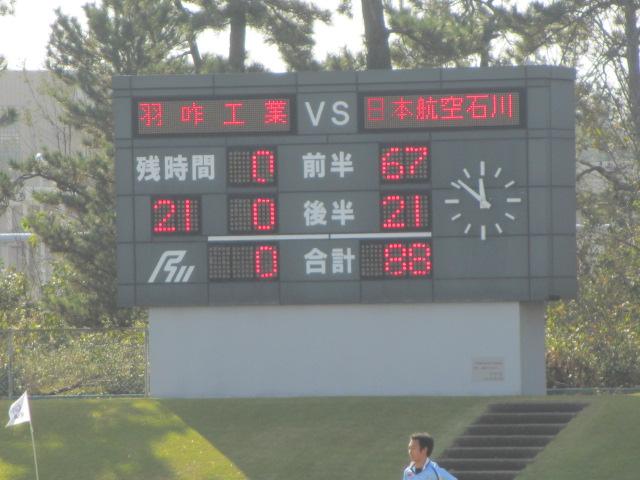 高校ラグビー新人戦  航空vs羽咋工業 236