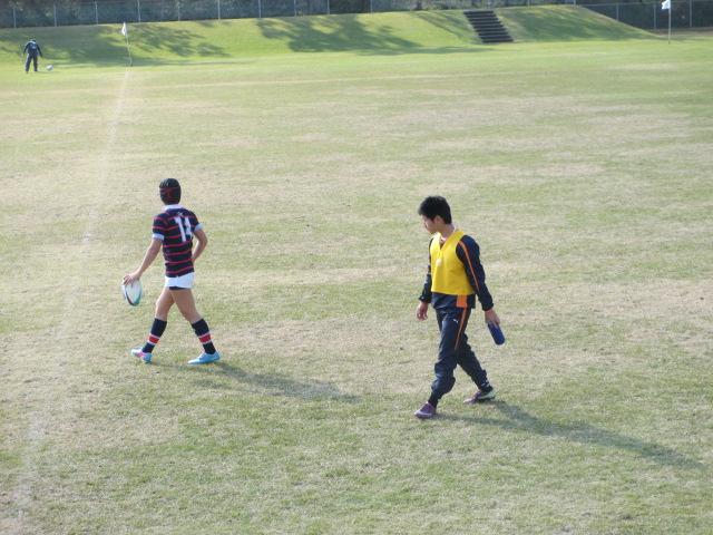 高校ラグビー新人戦  航空vs羽咋工業 251