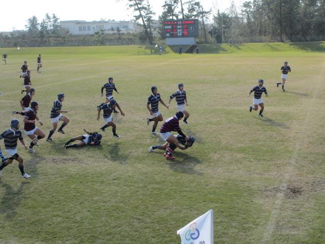 高校ラグビー新人戦  航空vs羽咋工業 263