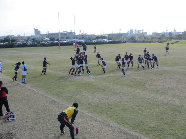 高校ラグビー新人戦  航空vs羽咋工業 262
