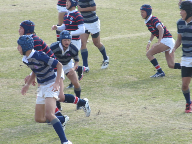 高校ラグビー新人戦  航空vs羽咋工業 259