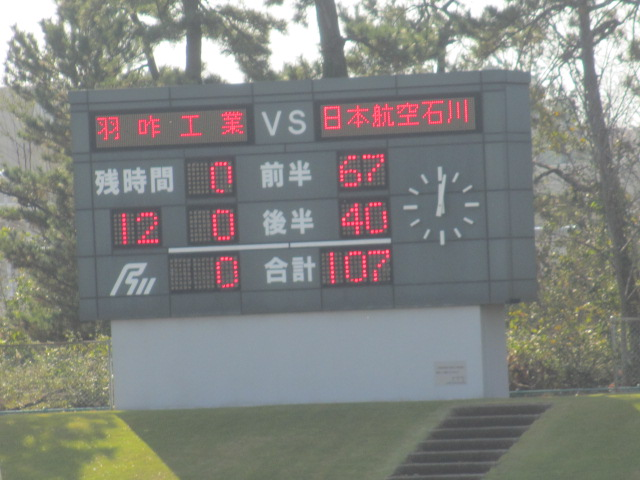 高校ラグビー新人戦  航空vs羽咋工業 286