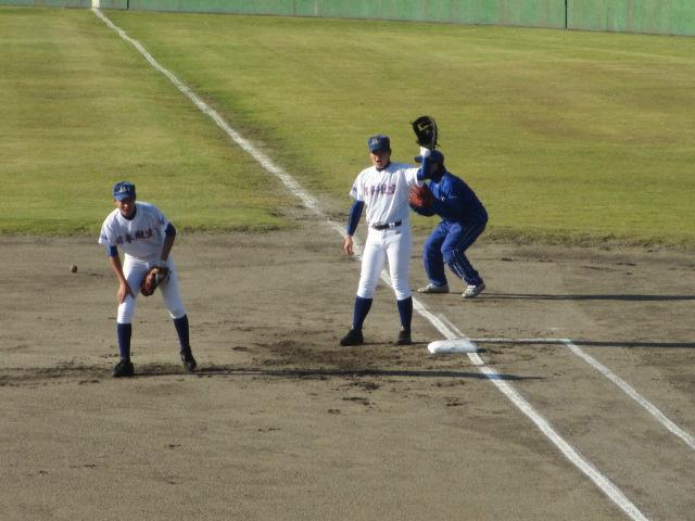 2013.11.17 野球部オープン戦 航空vs津幡 006